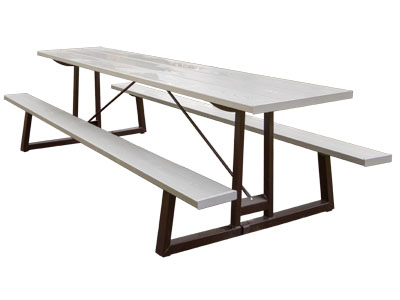 Aluminum Metal Picnic Tables