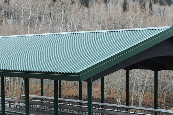 Steel Pavilion Roof